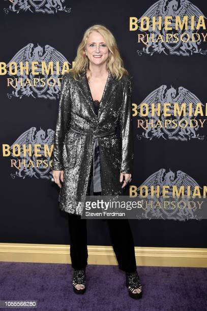 Nanette Lepore attends Bohemian Rhapsody New York Premiere at The Paris Theatre on October 30 2018 in New York City