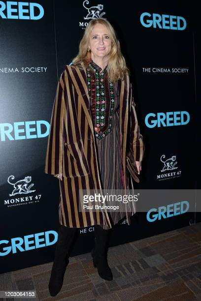 "Nanette Lepore attends The Cinema Society & Monkey 47 Host A Special Screening Of Sony Pictures Classics' ""Greed"" at Cinepolis Chelsea on February..."