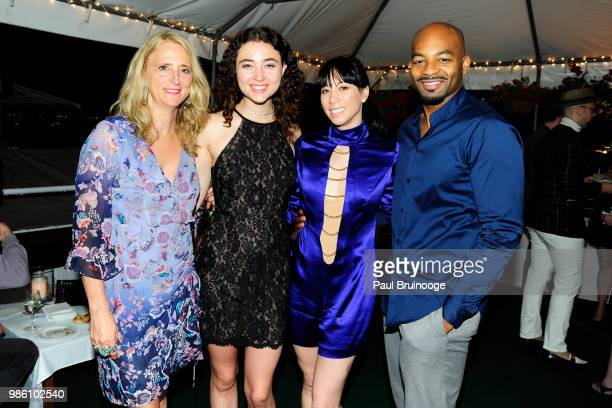 Nanette Lepore Violet Savage Georgina Padcogun and Brandon Victor Dixon attend The Cinema Society With Synchrony And Avion Host The After Party For...