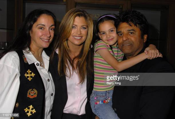 Nanette Mirkovich Kathy Ireland Erik Estrada and daughter Francesca