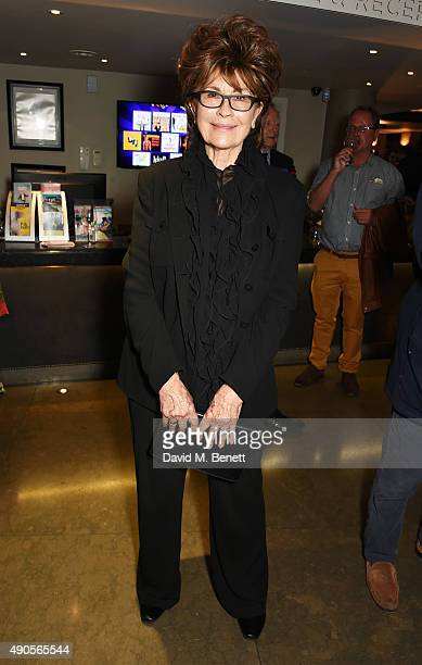 Nanette Newman attends the press night of Pure Imagination The Songs of Leslie Bricusse at the St James Theatre on September 29 2015 in London England