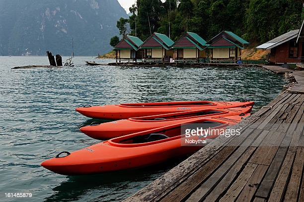 Nang Prai Raft Houses