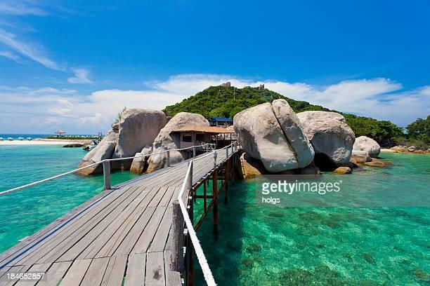 yuan nang タオ島で、タイ - ノックアウト ストックフォトと画像