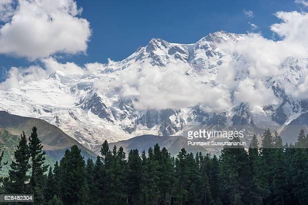 Nanga Parbat mountain view at Fairy meadow, Gilgit, Pakistan