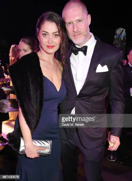 Nani Malat and JeanDavid Malat attend the de Grisogono 'Love On The Rocks' party during the 70th annual Cannes Film Festival at Hotel du CapEdenRoc...