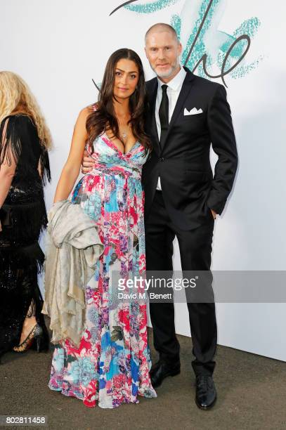 Nani Malat and JeanDavid Malat attend The Serpentine Galleries Summer Party at The Serpentine Gallery on June 28 2017 in London England