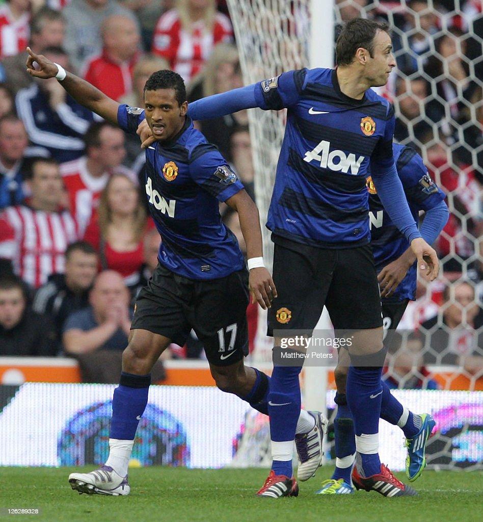 Stoke City v Manchester United - Premier League : Foto jornalística