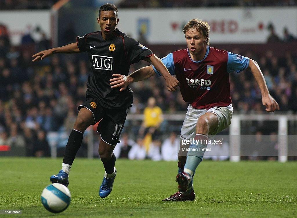 Aston Villa v Manchester United : News Photo