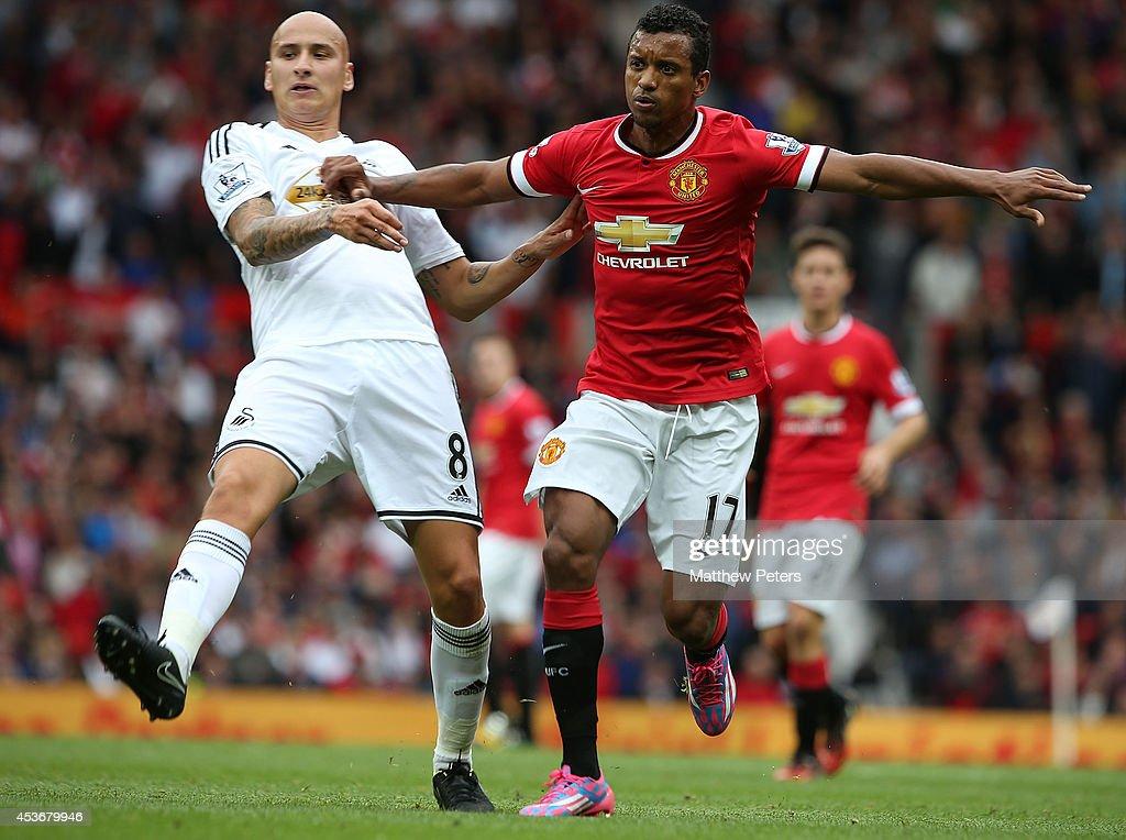 Manchester United v Swansea City - Premier League : Photo d'actualité