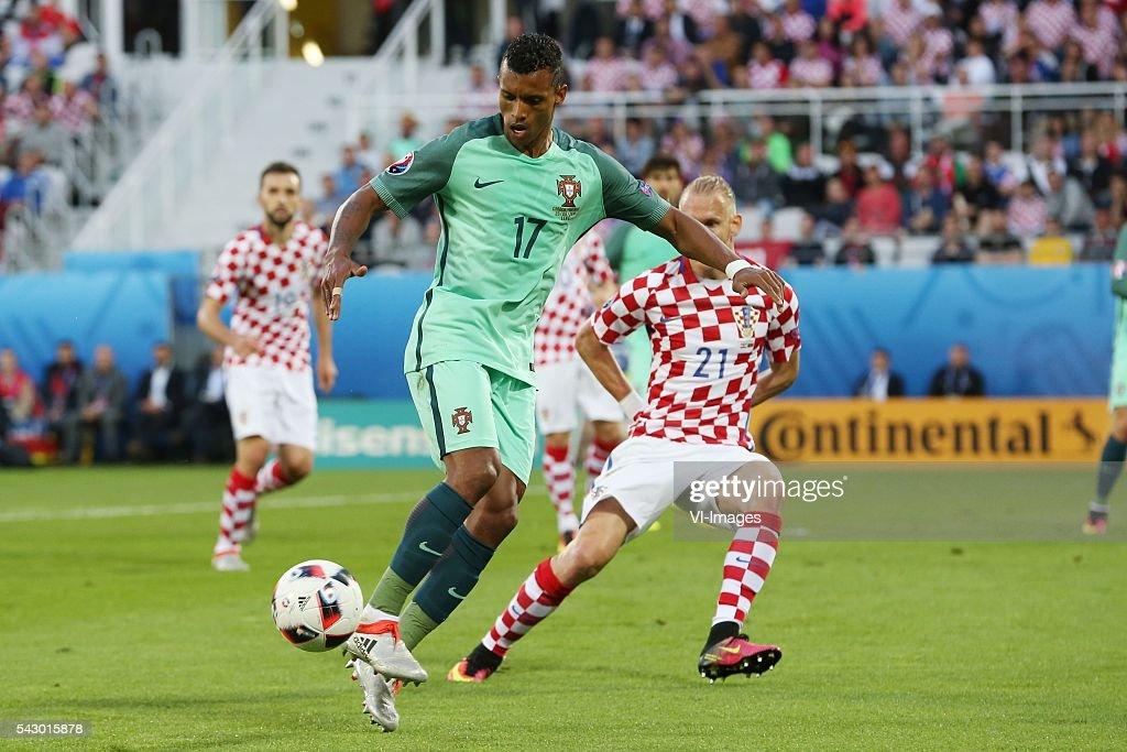 "UEFA Euro 2016 round of 16 - ""Croatia v Portugal"" : News Photo"