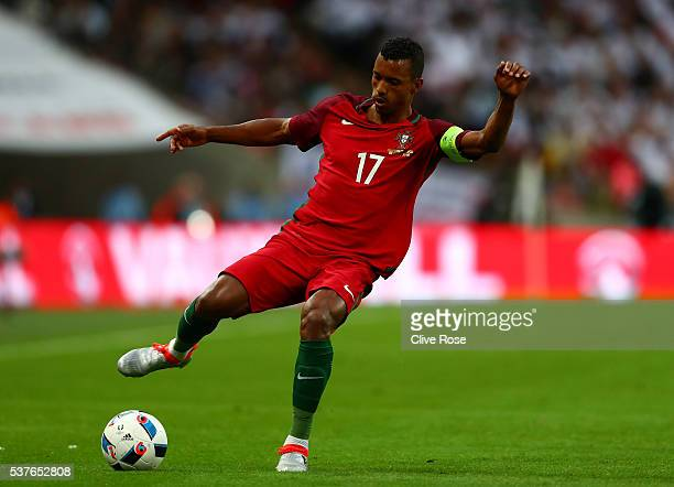 Nani of Portugal in action during the international friendly match between England and Portugal at Wembley Stadium on June 2 2016 in London England