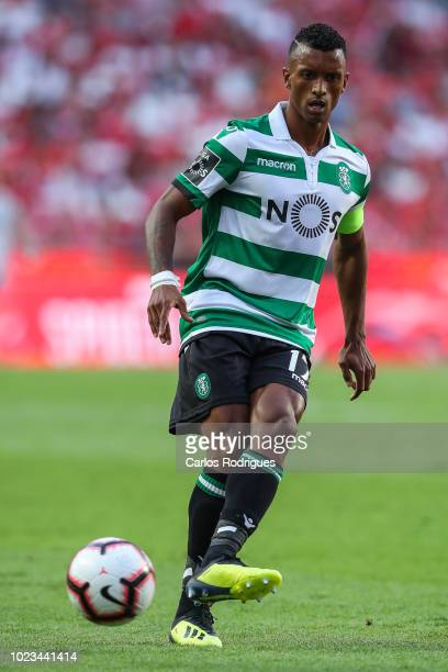 Nani of Sporting CP during the Liga NOS match between SL Benfica and Sporting CP for the third round of Liga NOS at Estadio da Luz on August 25 2018...