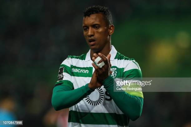 Nani of Sporting CP during the Liga NOS round 12 match between Sporting CP and CD Aves at Estadio Jose Alvalade on December 9 2018 in Lisbon Portugal