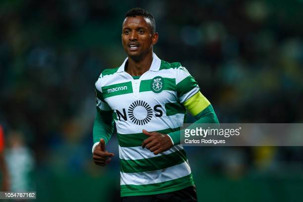Nani of Sporting CP during the Liga NOS round 8 match between Sporting CP and Boavista FC at Estadio Jose Alvalade on October 28 2018 in Lisbon...