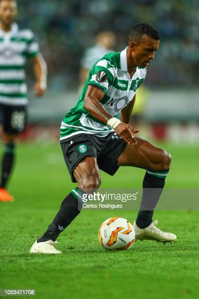 Nani of Sporting CP during the UEFA Europa League Group E match between Sporting CP and Arsenal at Estadio Jose Alvalade on October 25 2018 in Lisbon...