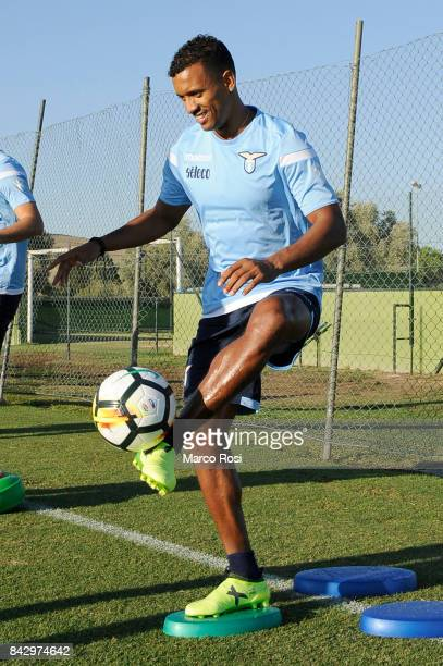 Nani of SS Lazio during the SS Lazio training session on September 5 2017 in Rome Italy