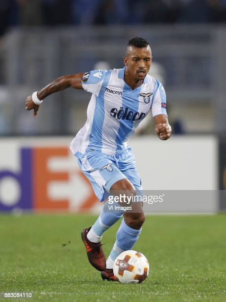 Nani of SS Lazio during the UEFA Europa League group K match between SS Lazio and Vitesse Arnhem at Stadio Olimpico on November 23 2017 in Rome Italy