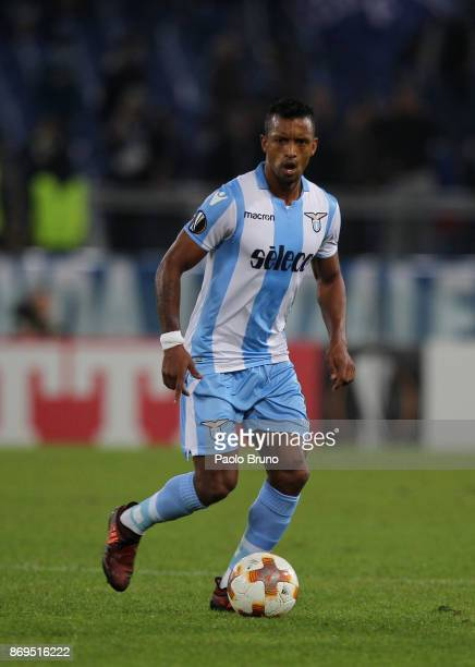 Nani of SS Lazio in action during the UEFA Europa League group K match between SS Lazio and OGC Nice at Stadio Olimpico on November 2 2017 in Rome...