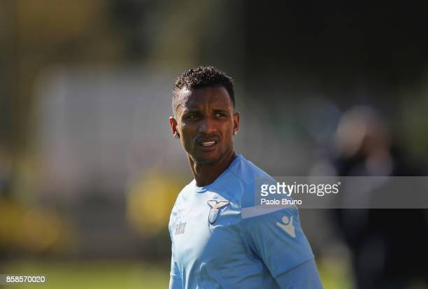 Nani of SS Lazio looks on during the friendly match between SS Lazio and Real Rocca di Papa on October 7 2017 in Rome Italy
