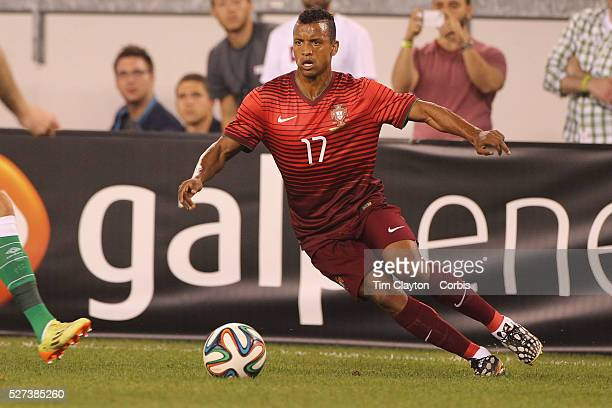 Nani Portugal in action during the Portugal V Ireland International Friendly match in preparation for the 2014 FIFA World Cup in Brazil MetLife...
