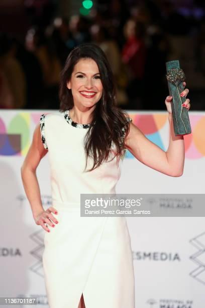 Nani Ruiz attends 'Litus' premiere during the 22th Malaga Film Festival on March 18, 2019 in Malaga, Spain.