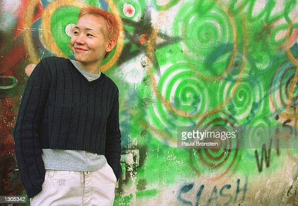 Nanita a 27yearold single mother who works as an architect poses for photos October 20 2000 in Ulaan Bataar Mongolia She returned to Mongolia after...