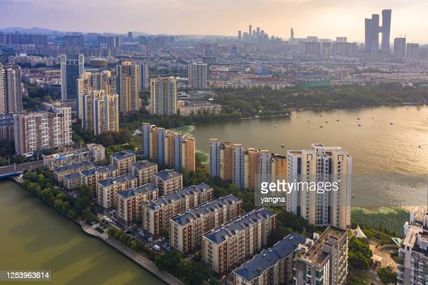 nanjing city architecture scenery - nanjing stock pictures, royalty-free photos & images