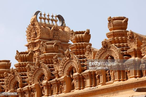 nanjundeshwara or srikanteshwara temple, hindu temple, dravidian style, nanjangud, karnataka, south india, india, south asia - {{asset.href}} stock pictures, royalty-free photos & images