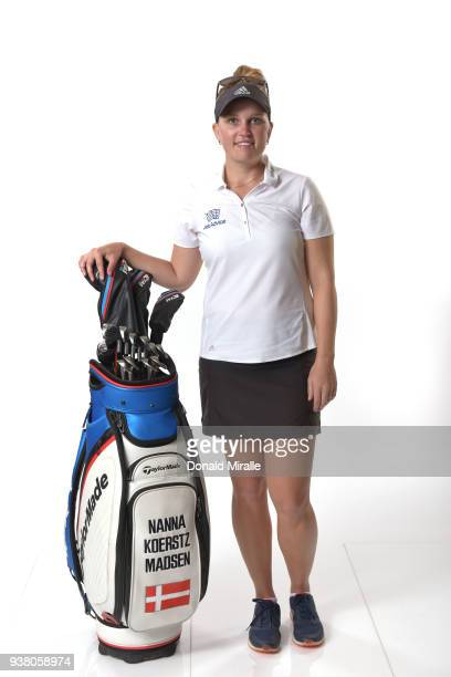 Nanna Koerstz Madsen of Denmark poses for a portrait during the LPGA KIA CLASSIC at the Park Hyatt Aviara on March 21 2018 in Carlsbad California
