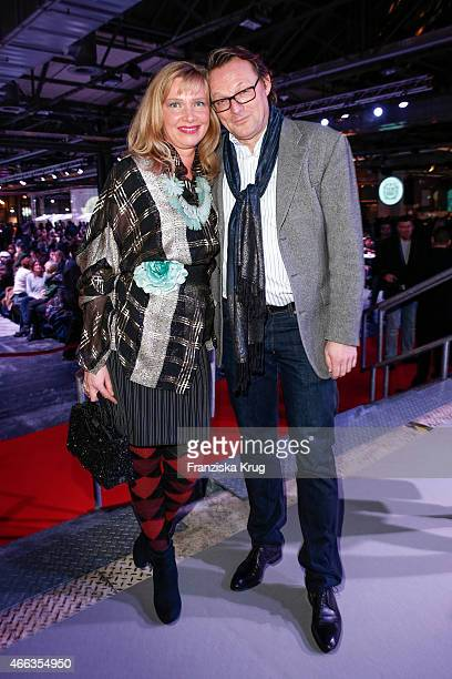 Nanna Kuckuck and Dirk Ullmann attend the Spirit of Istanbul by Yeni Raki on March 14 2015 in Berlin Germany