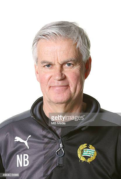 Nanne Bergstrand Manager of Hammarby poses during a portrait session on March 5 2015 in StockholmSweden