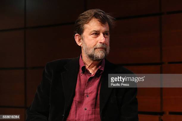 """Nanni Moretti at the Book Fair in Turin. A hundred years after the birth of Natalia Ginzburg, Nanni Moretti reads pages of """"Caro Michele"""" and..."""