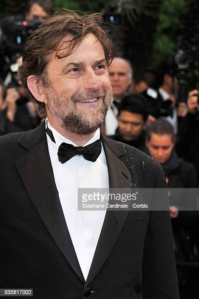 """Nanni Moretti at the premiere for """"Amour"""" during the 65th Cannes International Film Festival."""