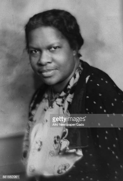 Nannie Burroughs a campaigner for education of women civil rights and womens political rights Washington DC 1930