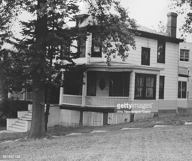 Nannie Burroughs school a building donated by the Womens Baptist Home Mission society a school to teach homemaking Washington DC 1930