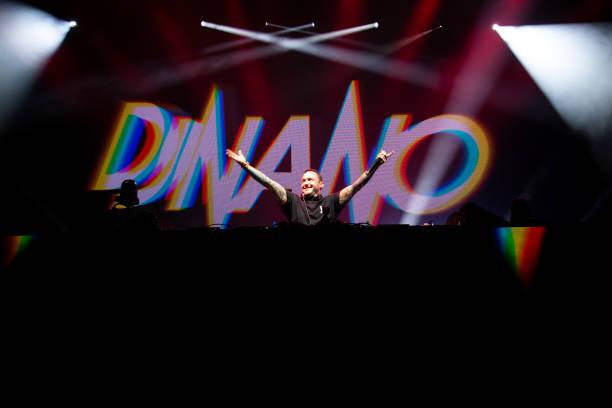ESP: DJ Nano Performs In Concert In Madrid