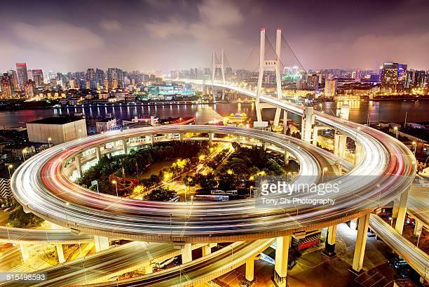 Nanpu Bridge, Shanghai, China