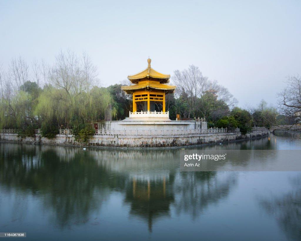 Nanqibao Temple Pagoda : Stock Photo