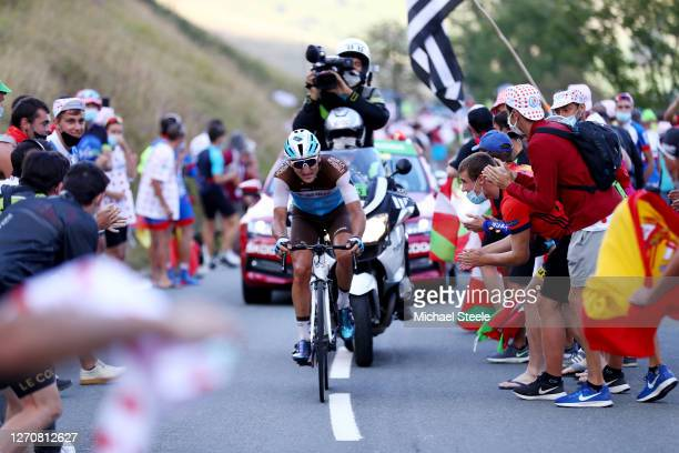 Nans Peters of France and Team Ag2R La Mondiale / Breakaway / during the 107th Tour de France 2020, Stage 8 a 141km stage from Cazères-Sur-Garonne to...
