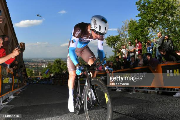 Nans Peters of France and Team AG2R La Mondiale / during the 102nd Giro d'Italia 2019 Stage 1 a 8km Individual Time Trial from Bologna to San...