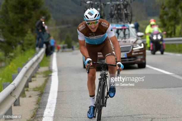 Nans Peters of France and Team AG2R La Mondiale / during the 102nd Giro d'Italia 2019, Stage 17 a 181km stage from Commezzadura to Antholz-Anterselva...