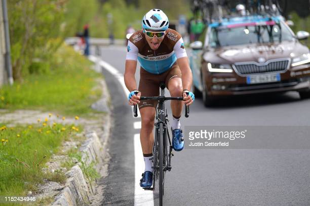 Nans Peters of France and Team AG2R La Mondiale / during the 102nd Giro d'Italia 2019 Stage 17 a 181km stage from Commezzadura to AntholzAnterselva...