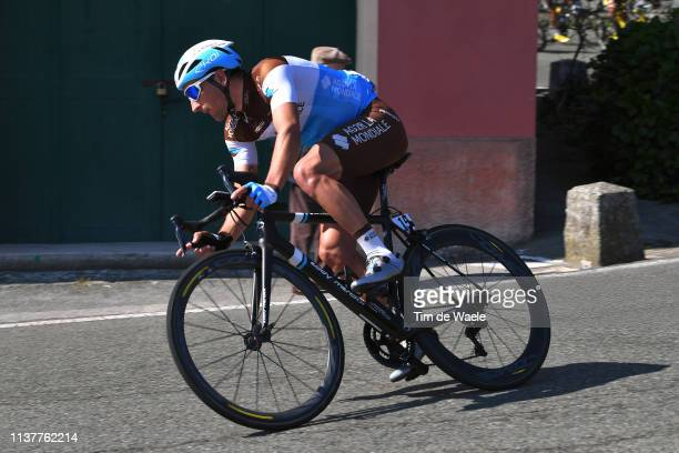 Nans Peters of France and Team AG2R La Mondiale / during the 110th MilanoSanremo 2019 a 291km race from Milano to Sanremo / @Milano_Sanremo / on...