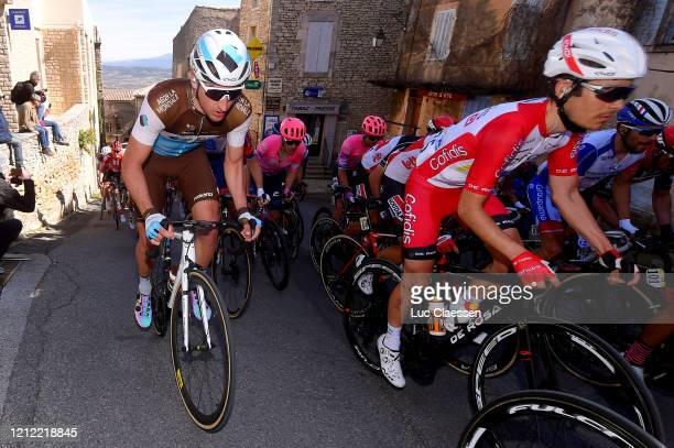 Nans Peters of France and Team AG2R La Mondiale / Guillaume Martin of France and Team Cofidis Solution Credits / Alberto Bettiol of Italy and Team Ef...