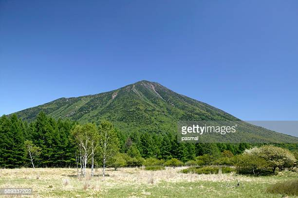 nantai-san and senjogahara, tochigi prefecture, japan - 栃木県 ストックフォトと画像