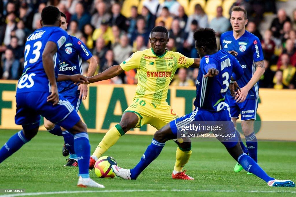 FRA: FC Nantes v RC Strasbourg - Ligue 1