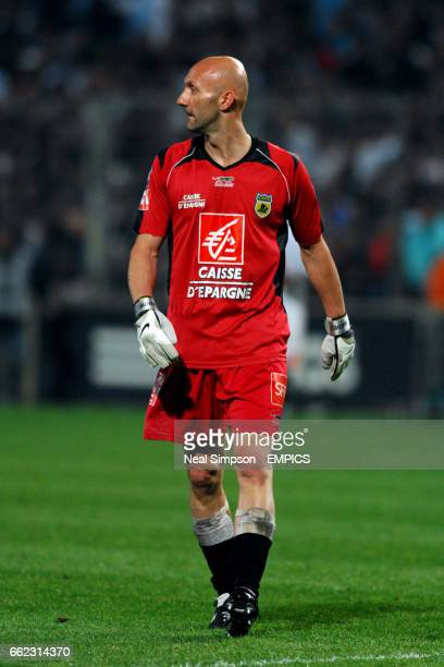 Nantes goalkeeper Fabien Barthez