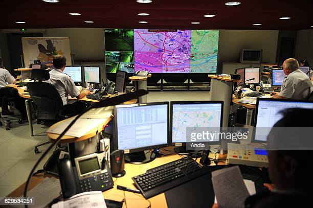 Nantes on the satellite locating system in the premises of the police station used to located the police cars is one of the most sophisticated...