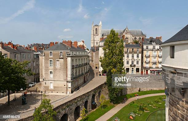 nantes - the castle of brittany dukes - loire atlantique stock pictures, royalty-free photos & images