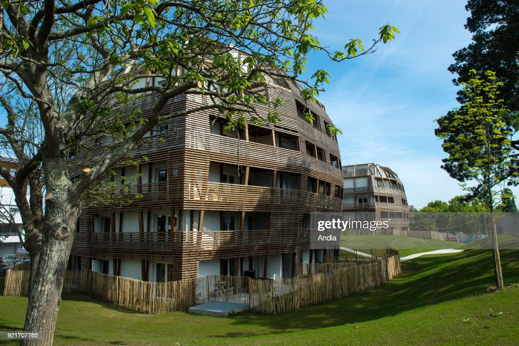 Woody-Wood, housing programme in the district of Dervallieres. : News Photo